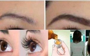 Guarde esta receita antes que se perca: seus cabelos, cílios e sobrancelhas vão crescer como nunca