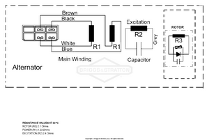alternator wiring diagram [ 1500 x 1007 Pixel ]