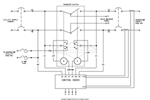 small resolution of wiring schematic transfer switch