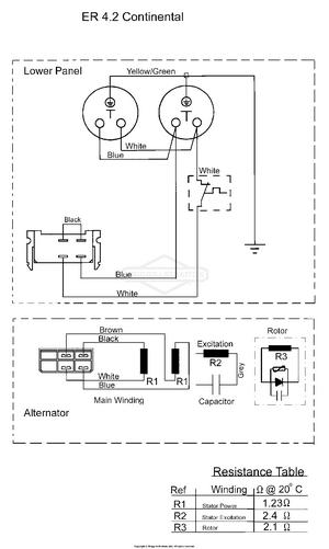 alternator wiring diagram [ 1500 x 2507 Pixel ]