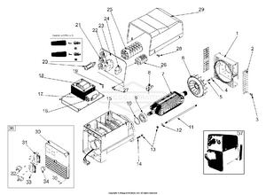 hight resolution of alternator outlet panel