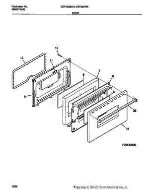 FRS3R4EW4 Interactive Exploded View