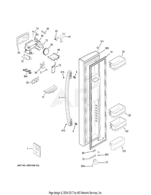 GSS25GSHKCSS Interactive Exploded View