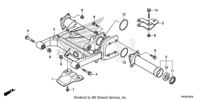 Parts & Accessories Honda OEM Part 91051-HR3-W51 Other
