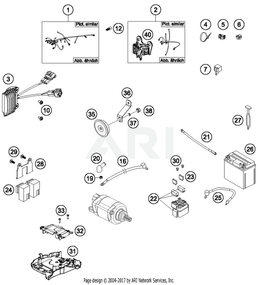medium resolution of husqvarna fe s wiring harness parts best oem wiring schematic search results 0 parts in 0