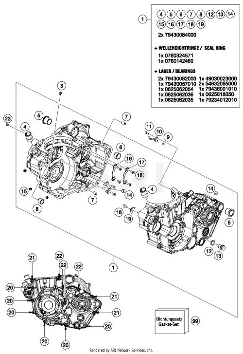 small resolution of case 450 engine parts diagram wiring diagram progresif2017 husqvarna fc 450 engine case parts best oem