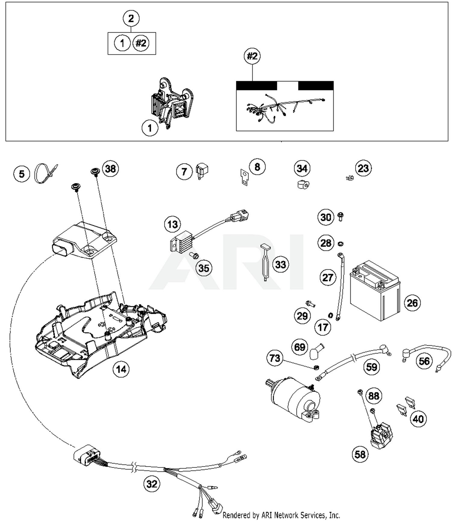 Husqvarna Wiring Schematic