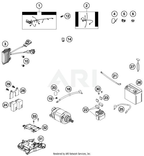 small resolution of 2015 husqvarna fe501 wiring harness parts best oem wiring harness fe 501 wiring diagram