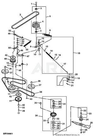 John Deere 54c Mower Deck Parts : deere, mower, parts, Deere, GX325, Garden, Tractor, MOWER, -PC9076, Model, GX54HPX010001-XXXXXX, GX54HPXXXXXXX-XXXXXX