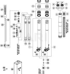 2019 ktm 300 xc w tpi front fork disassembled 15 parts best oem megasquirt wiring diagram ktm 300 tpi wiring diagram [ 1500 x 2149 Pixel ]