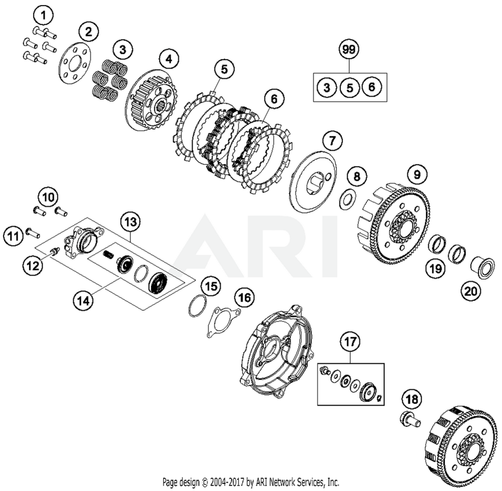 medium resolution of ktm sx 65 clutch diagram wiring diagram schema ktm 65 clutch diagram