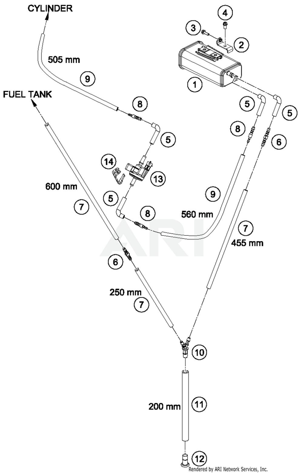 medium resolution of 2017 ktm 690 duke orange evaporative canister parts best oem evaporative canister parts diagram for