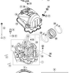 2017 ktm 690 enduro r abs cylinder head parts best oem ktm 690 smc parts list ktm 690 parts diagram [ 1500 x 2119 Pixel ]