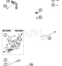2017 ktm 350 xc f wiring harness parts best oem wiring harness ktm 250 xcf  [ 1500 x 2094 Pixel ]