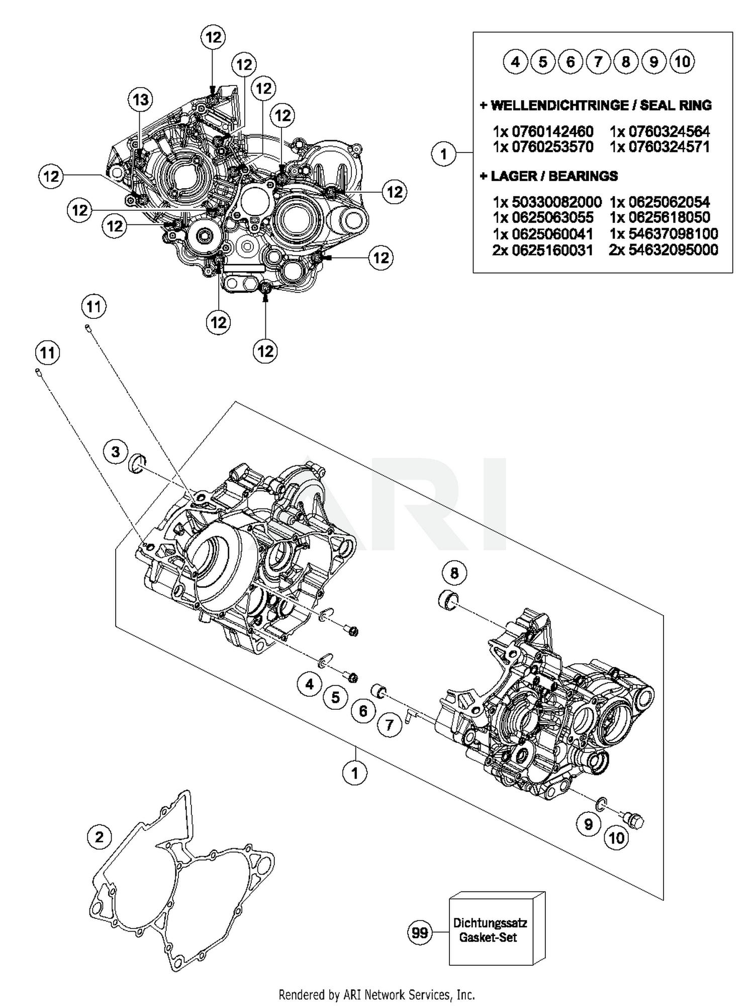 generalwiringdiagram: Ktm 250 Engine Diagram