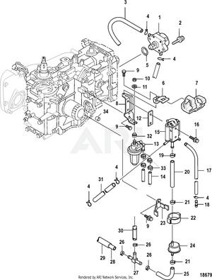 25 Jet EFI (3 CYL.)(4-STROKE) 0R165086 & Up (MERCURY