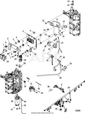 50 EFI (4 CYL.)(4-STROKE) 1C050252 & Up (MERCURY