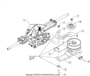 hight resolution of transmission pulley
