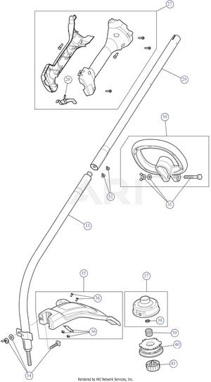 Bolens Bl110 Fuel Line Diagram : bolens, bl110, diagram, Bolens, BL110, 41AD130G965, String, Trimmers, PartsWarehouse