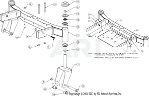 medium resolution of front axle