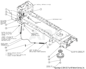 cub cadet xt1 42 inch deck belt diagram the best belt produck on poulan pro  [ 1500 x 1202 Pixel ]