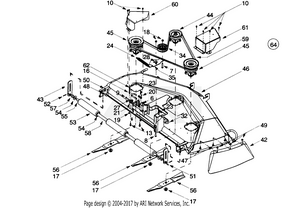 hight resolution of 50 inch deck assembly