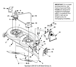 hight resolution of deck assembly