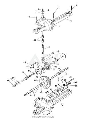 medium resolution of transmission assembly 618 0073