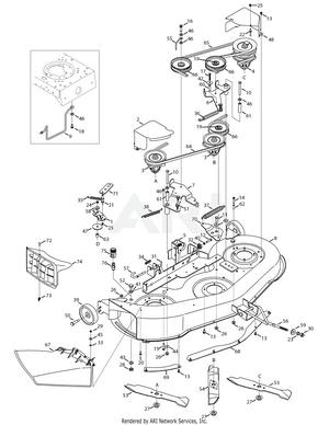Troy Bilt Bronco Deck Belt Diagram : bronco, diagram, Troy-Bilt, 13AX60KH011, Super, Bronco, (2008), Mowing