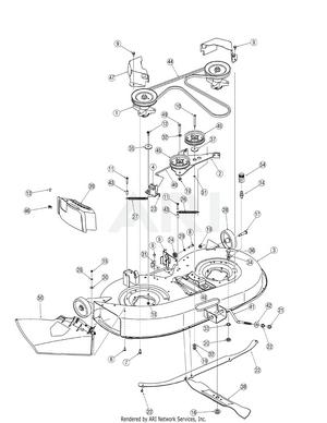 Troy Bilt Pony Parts Diagram : parts, diagram, Troy-Bilt, 13AN77TG766, Tractor, PartsWarehouse