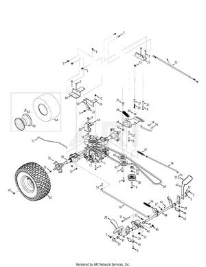 Troy Bilt Bronco Drive Belt Diagram : bronco, drive, diagram, Troy-Bilt, 13WQ93KP011, Super, Bronco, Tractor, PartsWarehouse