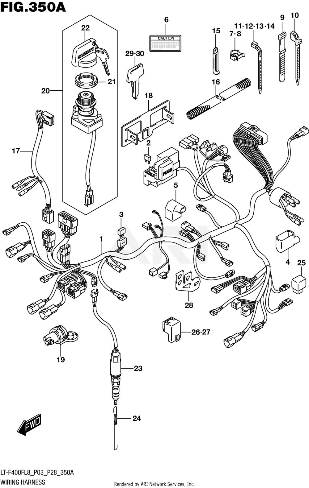 medium resolution of suzuki king quad wiring harness wiring diagram database 2006 suzuki king quad 700 wiring harness 2018