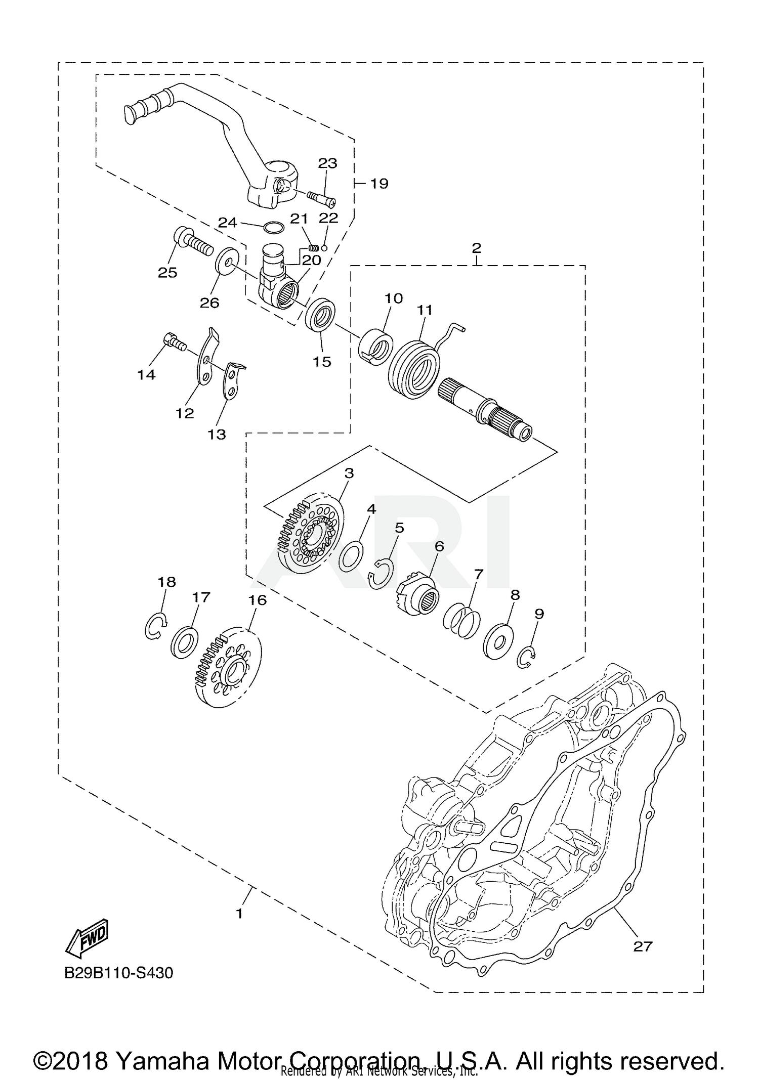 hight resolution of yamaha wr250f diagram wiring diagram go 2006 wr250f wiring diagram 2018 yamaha wr250f wr250fj parts option