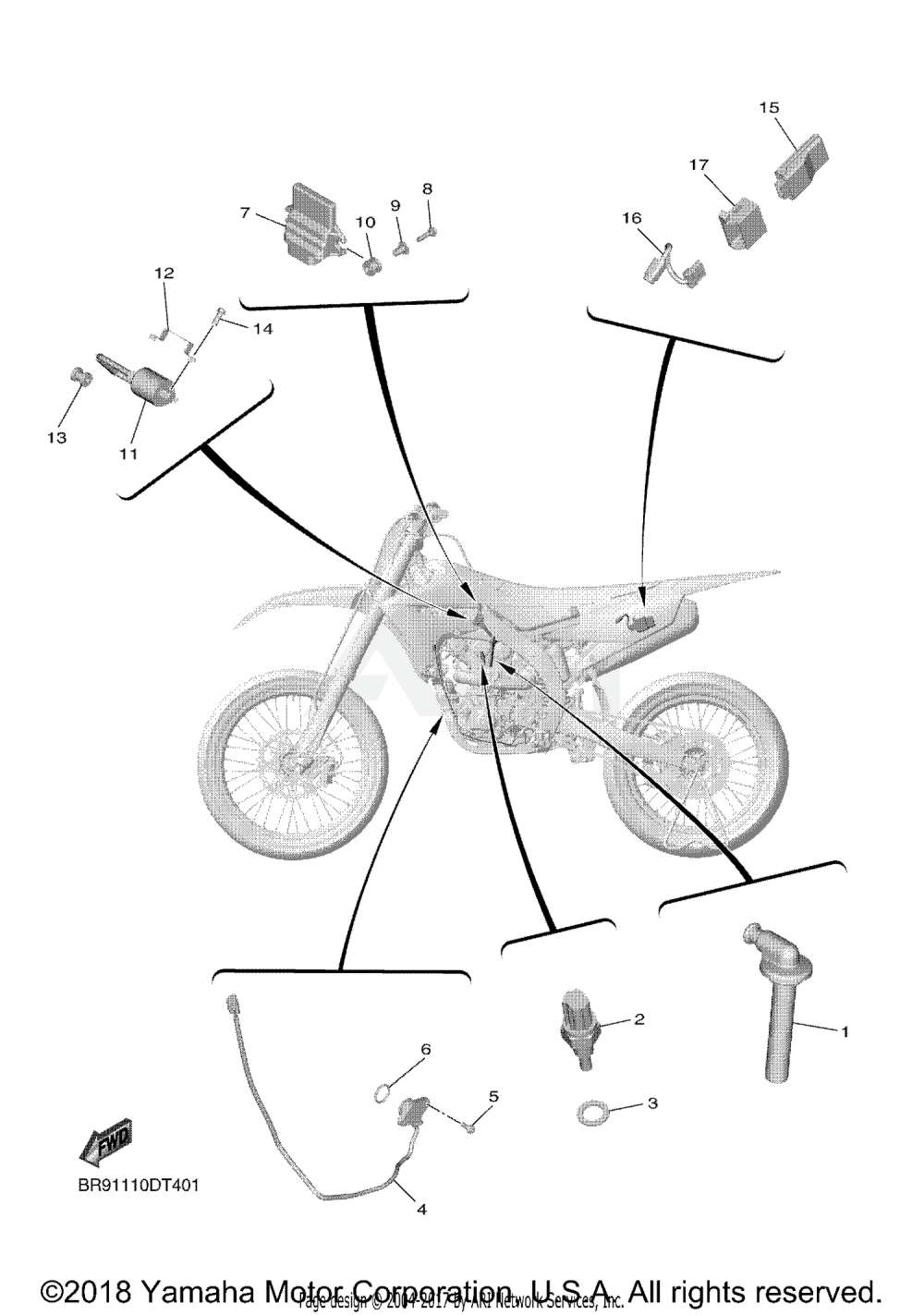 medium resolution of yamaha bike diagram wiring diagram centre yamaha dirt bike wiring diagram 2019 yamaha yz450fx electrical 1