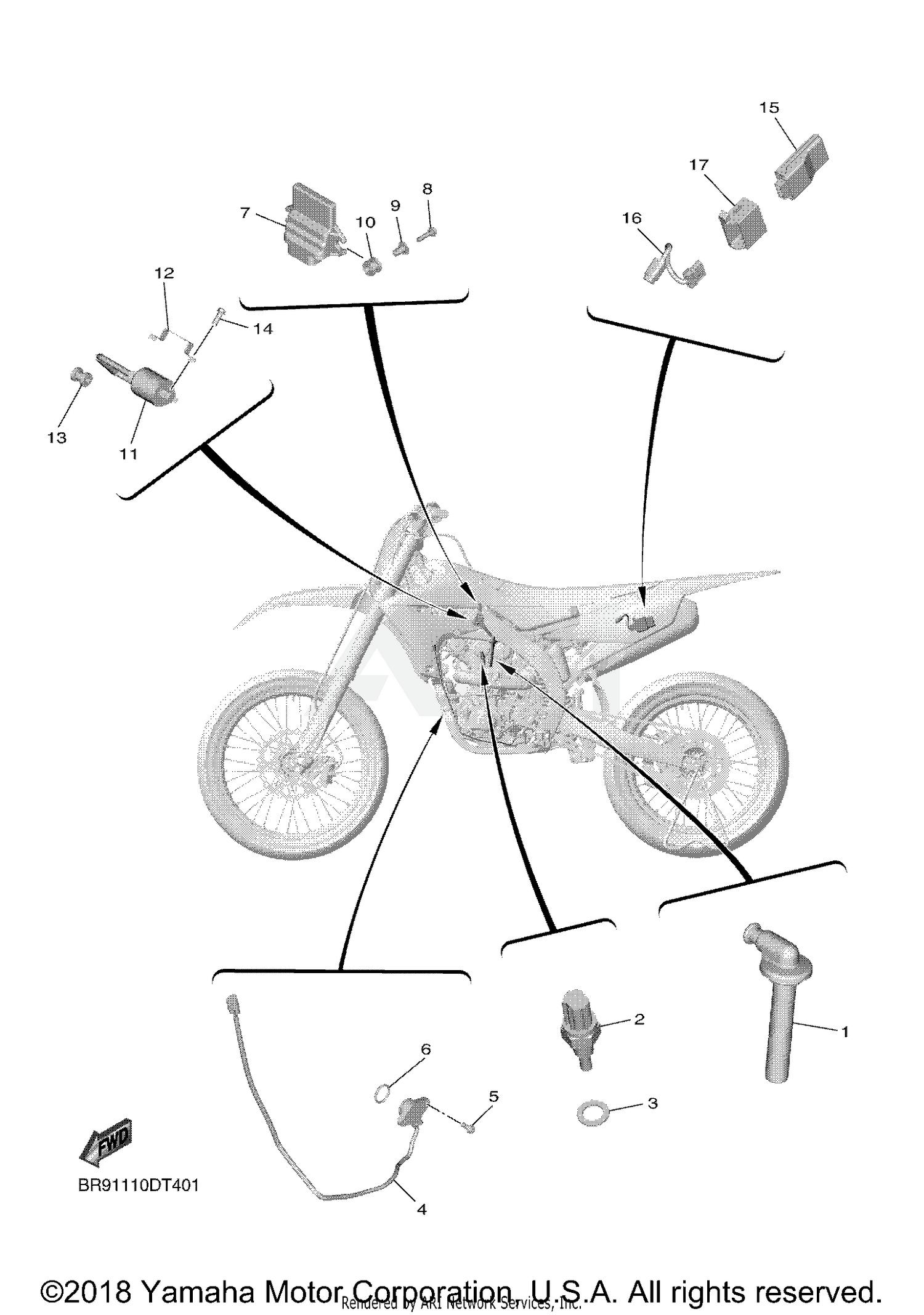 hight resolution of yamaha bike diagram wiring diagram centre yamaha dirt bike wiring diagram 2019 yamaha yz450fx electrical 1