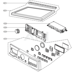 DLEX3570W Interactive Exploded View