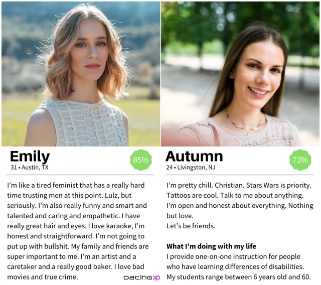 23 Online Dating Profile Examples For Women — DatingXP.co