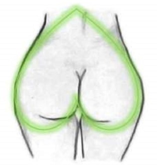 Image result for Heart Shaped Bum