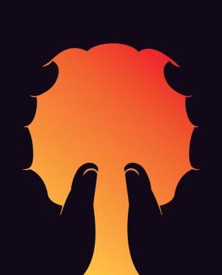 hands tree image