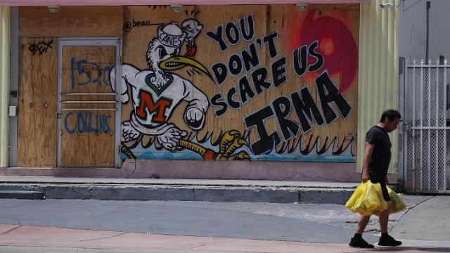 Florida Shows Complete Devastation After Hurricane Irma