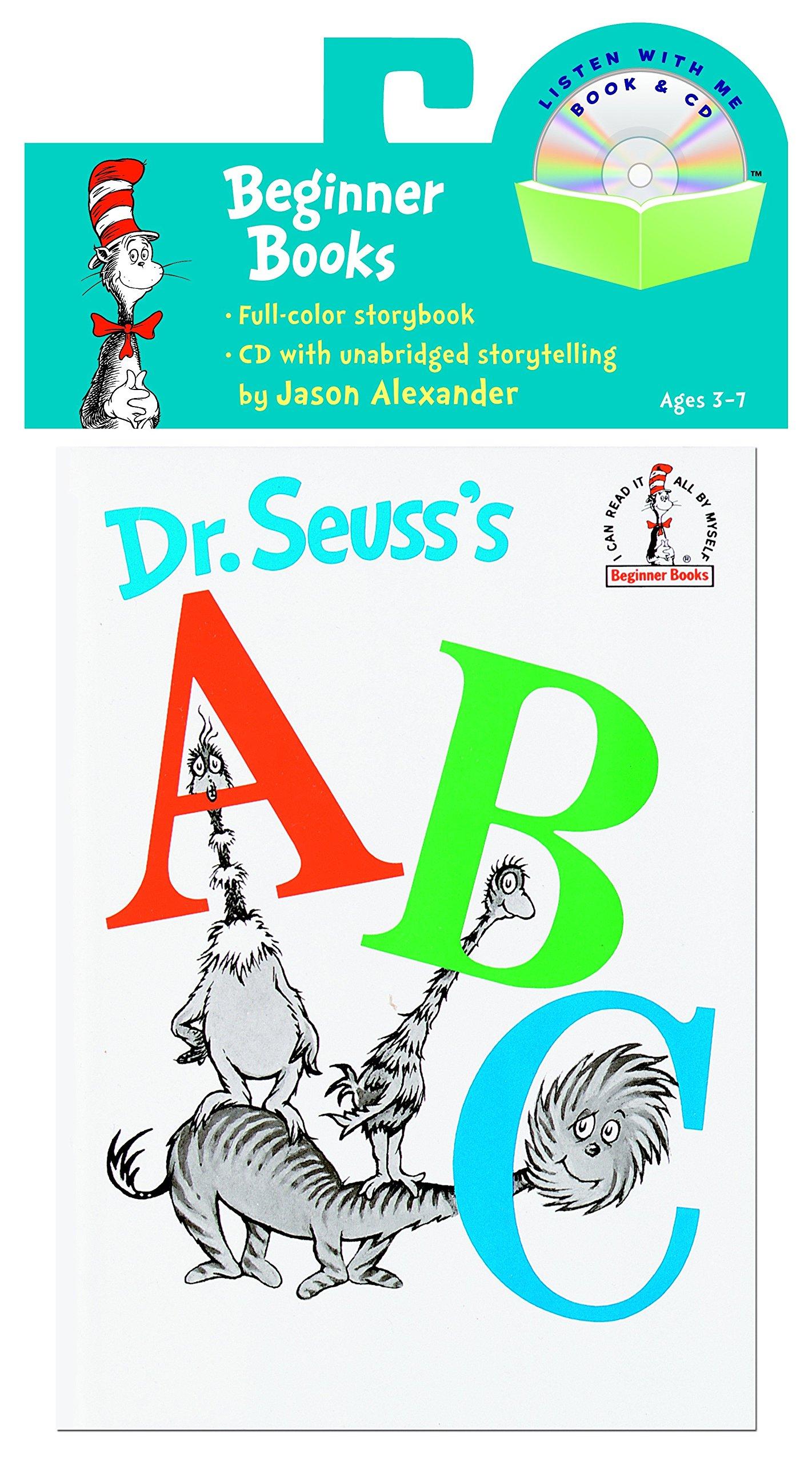 Dr Seuss S Abc Book Amp Cd