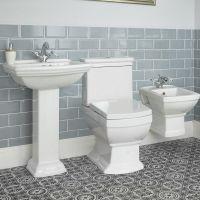 Sandringham Badkeramik Traditionelle Toilette und ...