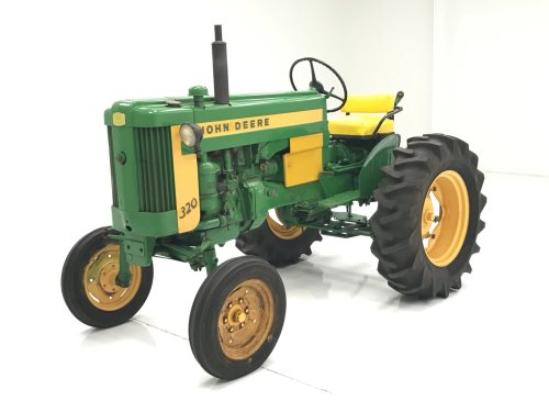 small resolution of 1958 john deere 320 s tractor