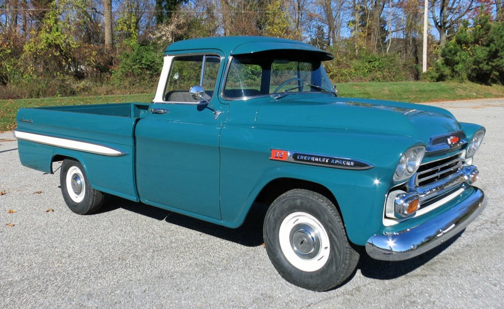 medium resolution of 1959 chevrolet apache
