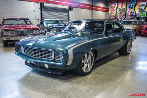 small resolution of 1969 pro touring camaro no expense spared completely modern big block power