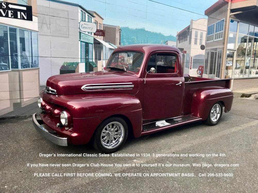 medium resolution of 1951 ford f1 for sale