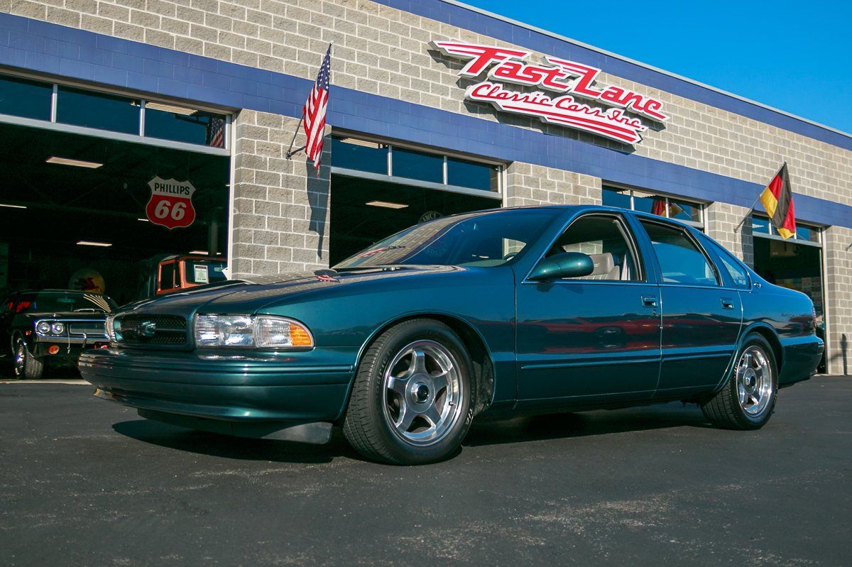 hight resolution of 1996 chevrolet impala ss