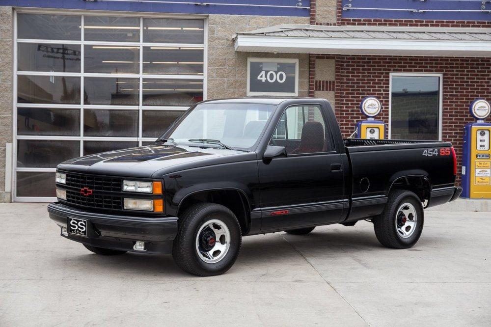 medium resolution of 1990 chevrolet 454 ss pickup
