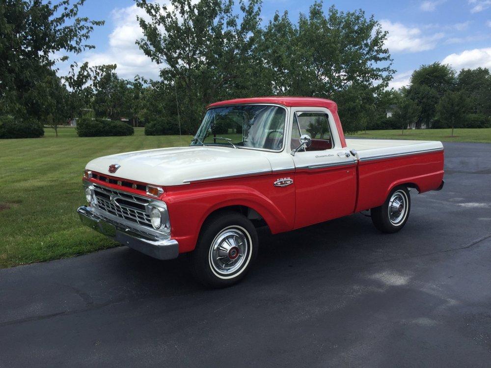 medium resolution of 1966 ford f100 custom cab