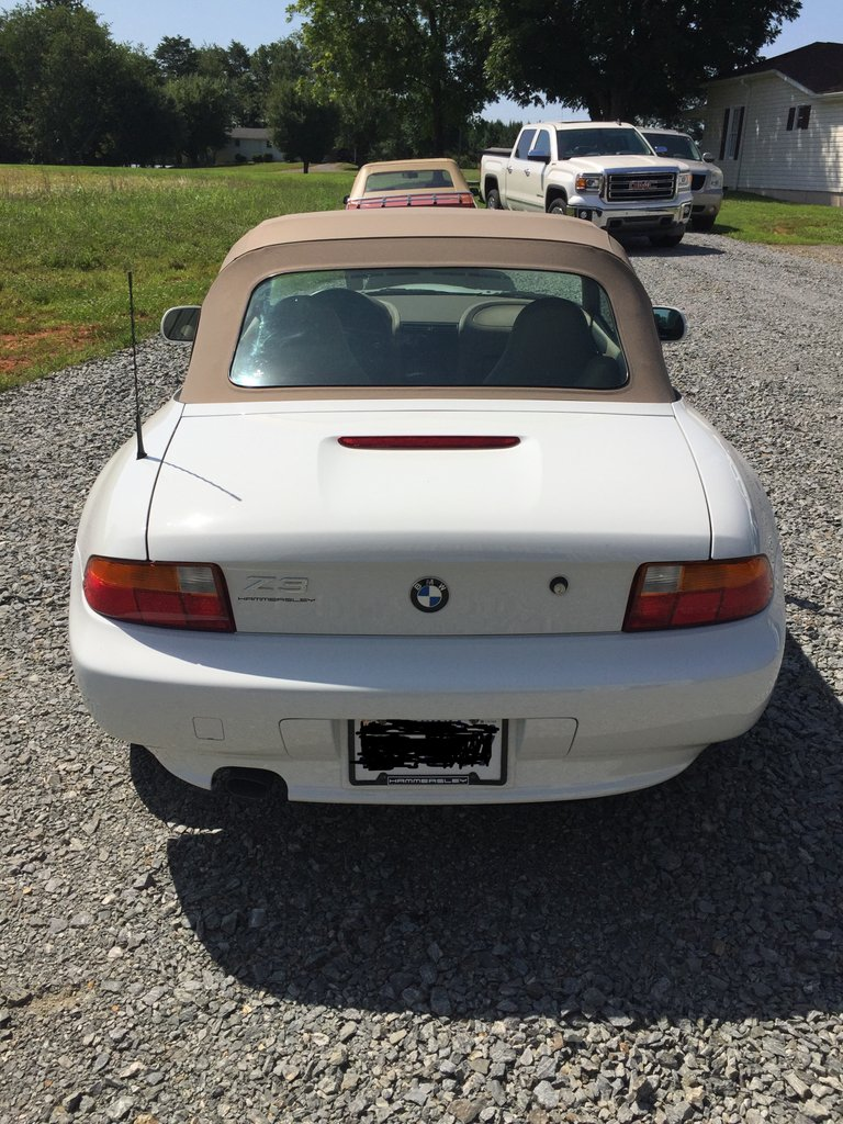 medium resolution of 1997 bmw z3 roadster convertible